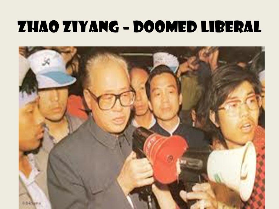 Zhao ziyang – doomed liberal