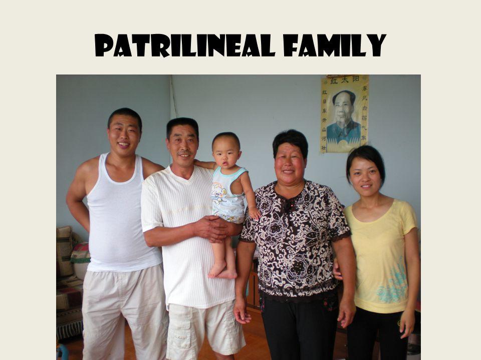Patrilineal family