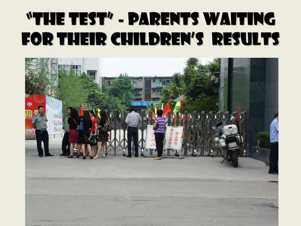 The Test - Parents waiting for their childrens results