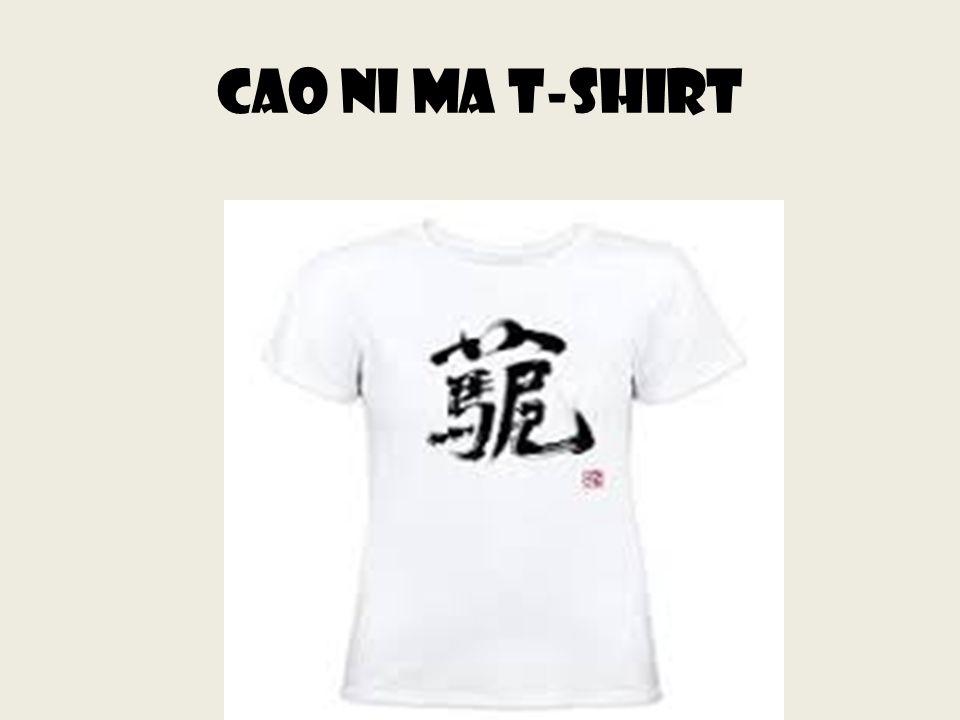 Cao ni ma t-shirt