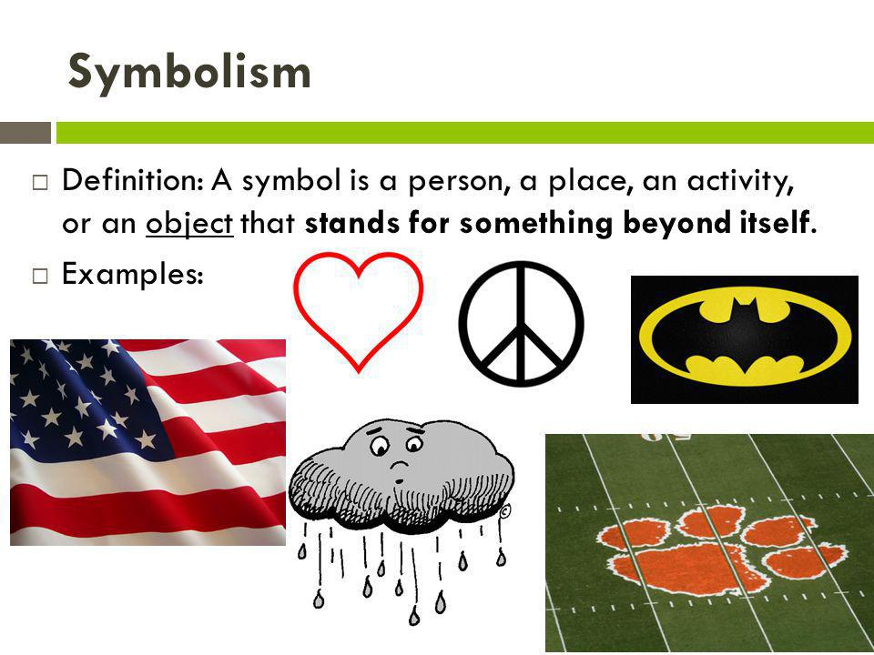 Image Gallery Symbolism Examples