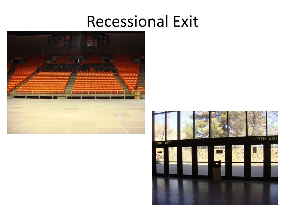 Recessional Exit