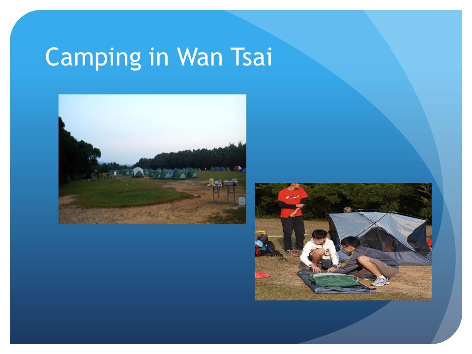Camping in Wan Tsai