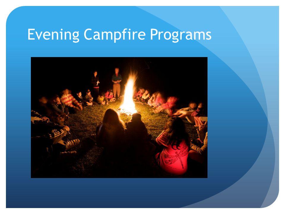 Evening Campfire Programs