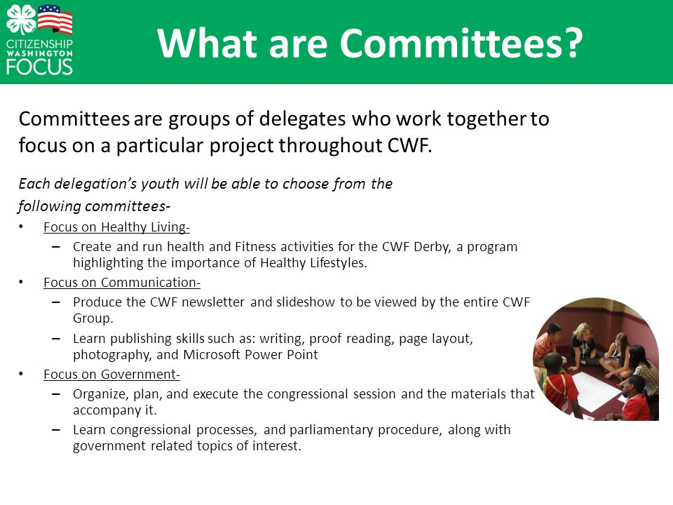 What are Committees.