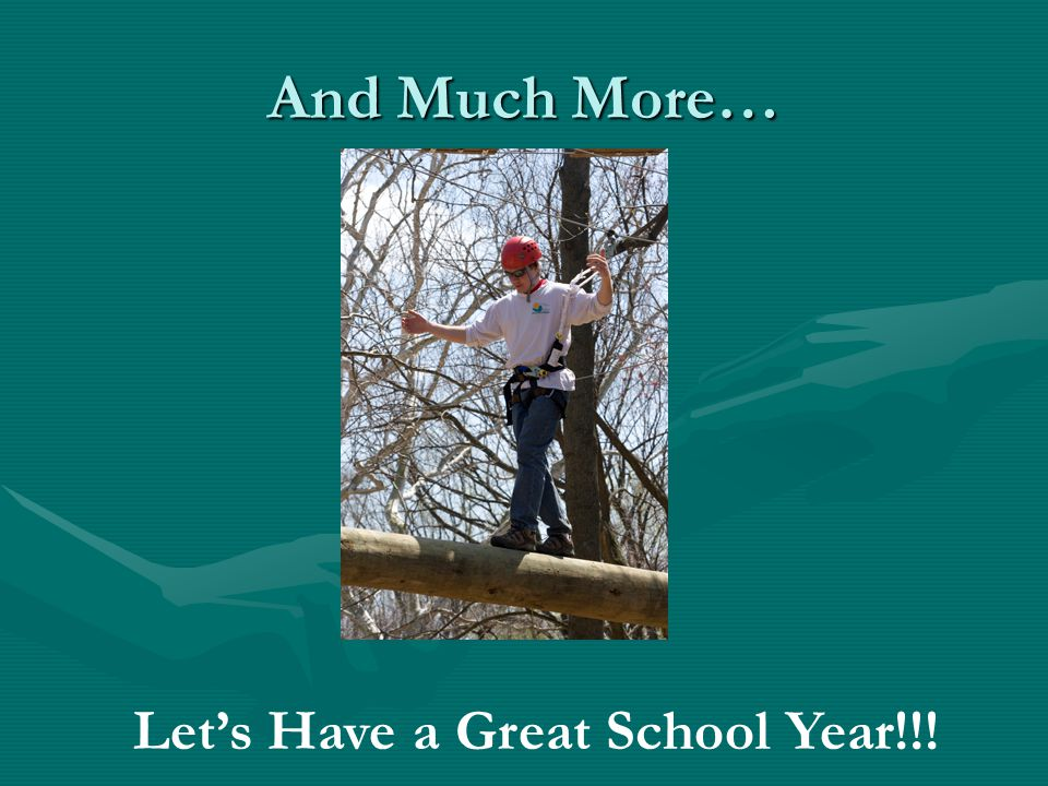 And Much More… Lets Have a Great School Year!!!