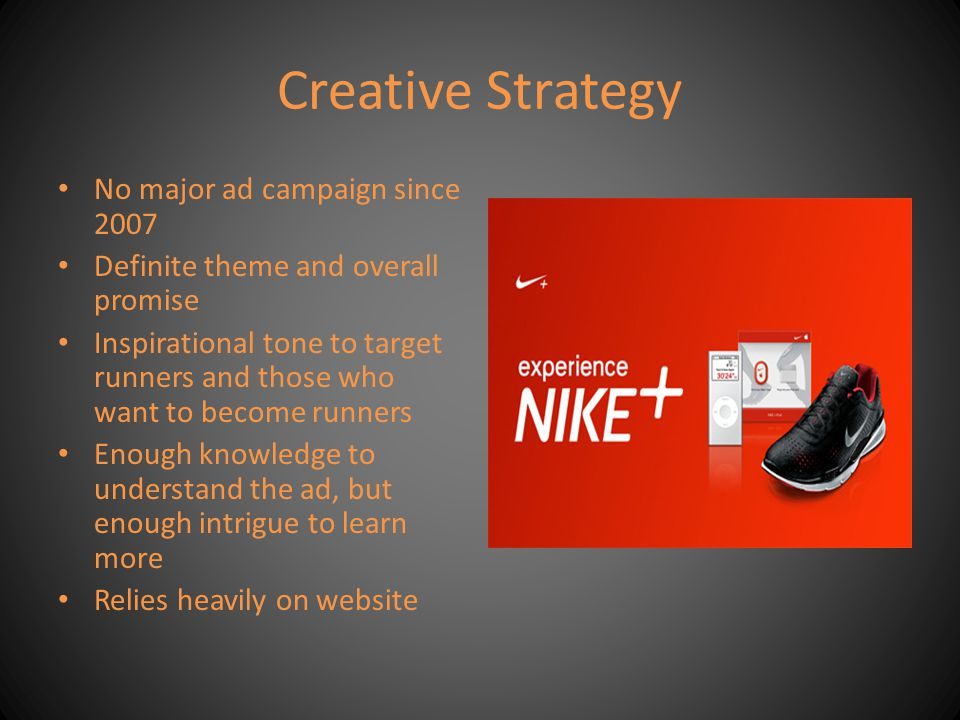 Creative Strategy Examples