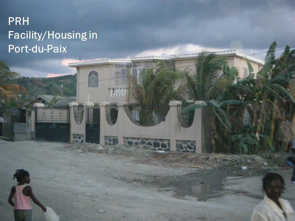 PRH Facility/Housing in Port-du-Paix