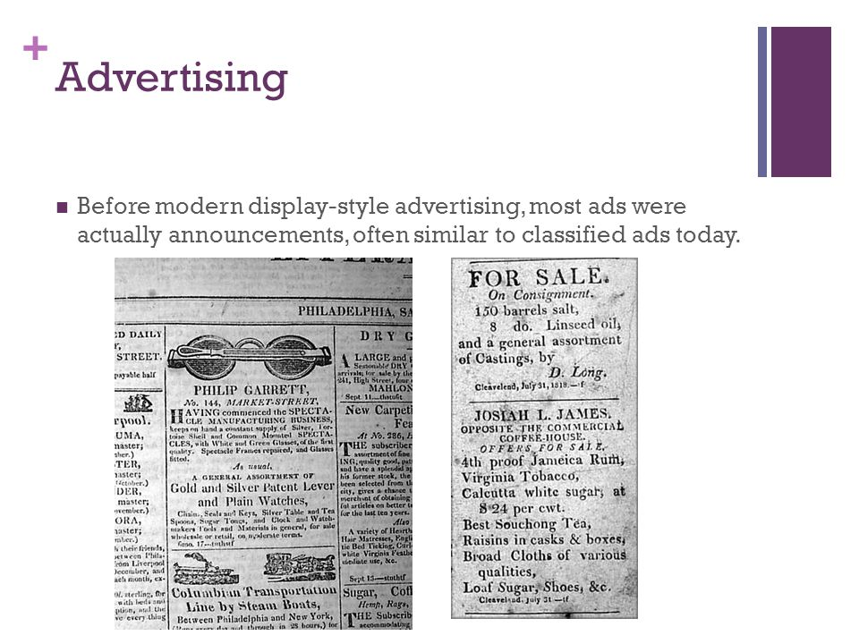 + Advertising Manufacturers who produced products at an industrial rate realized consumers thought of all products as the same: flour was flour, tobacco was tobacco, soap was soap.