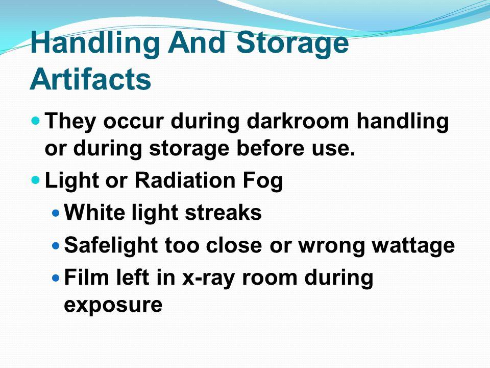 Kink Marks Improper handling or storage Appears as a fingernail mark