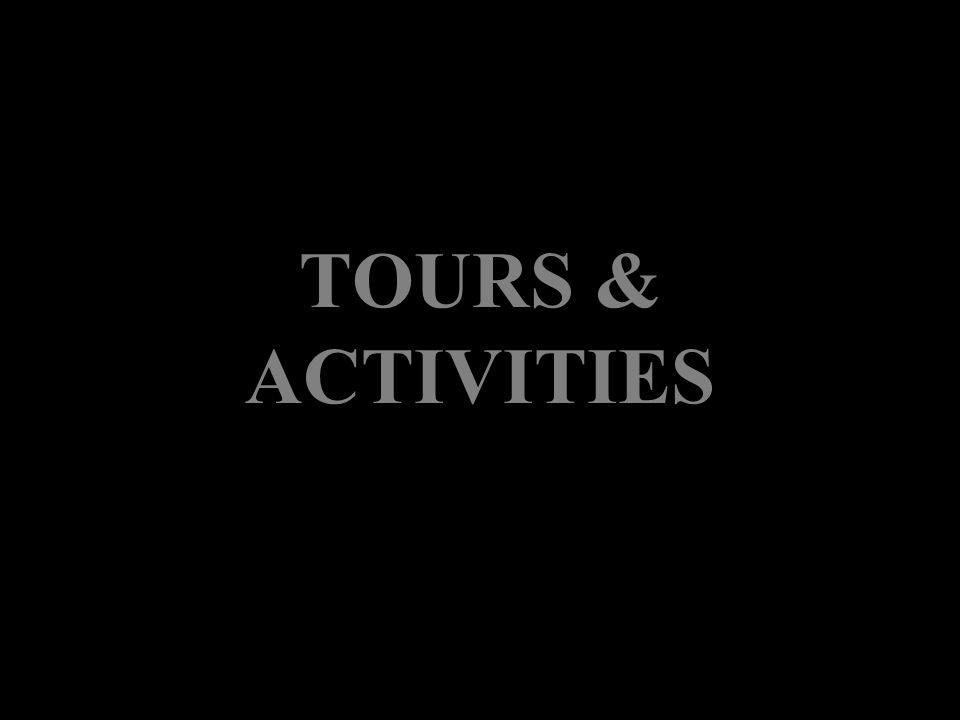 PANAMA CITY AND MIRAFLORES LOCKS TOUR TIME OF TRANSPORTATION: 25 MINUTES C APACITY : Min.