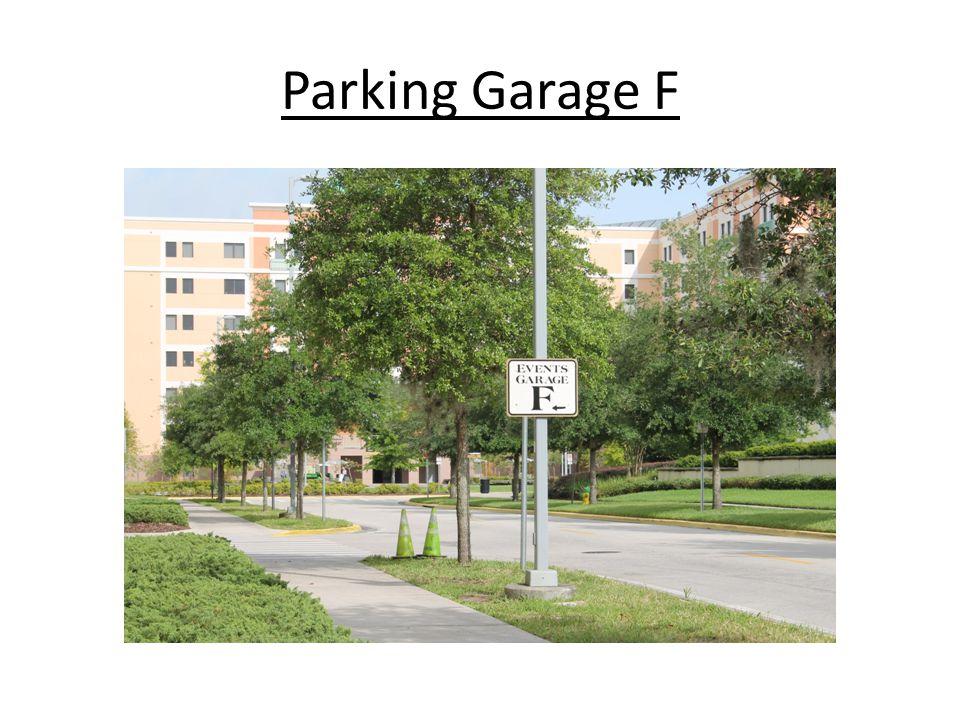 Parking Garage F
