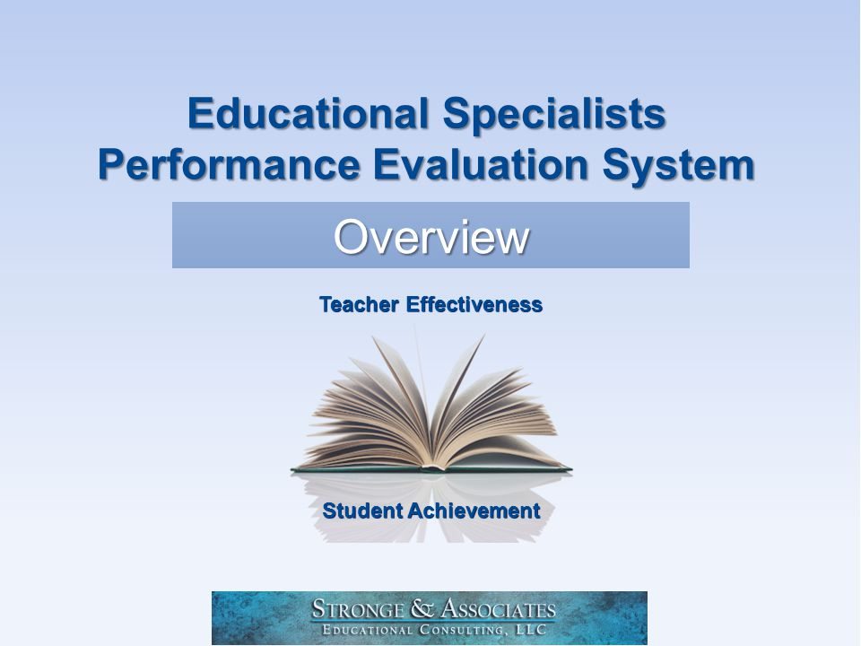 Stronge and Associates Educational Consulting, LLC Performance Standard 3: Program Delivery The educational specialist uses professional knowledge to implement a variety of services for the targeted learning community.
