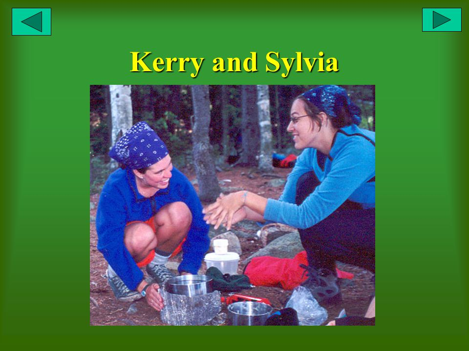 Kerry and Sylvia
