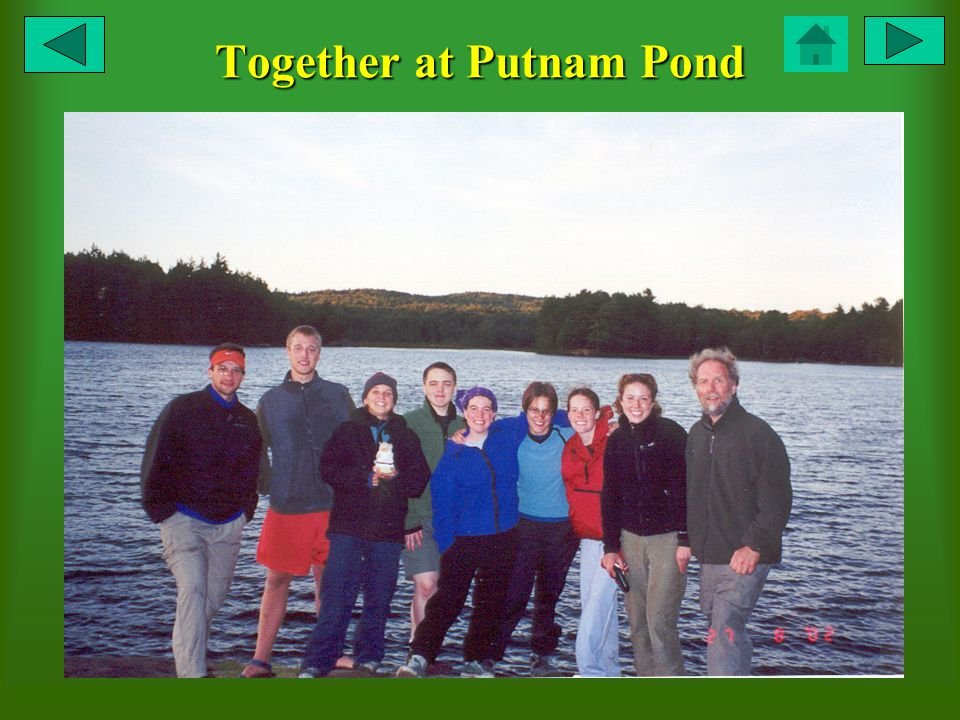 Together at Putnam Pond