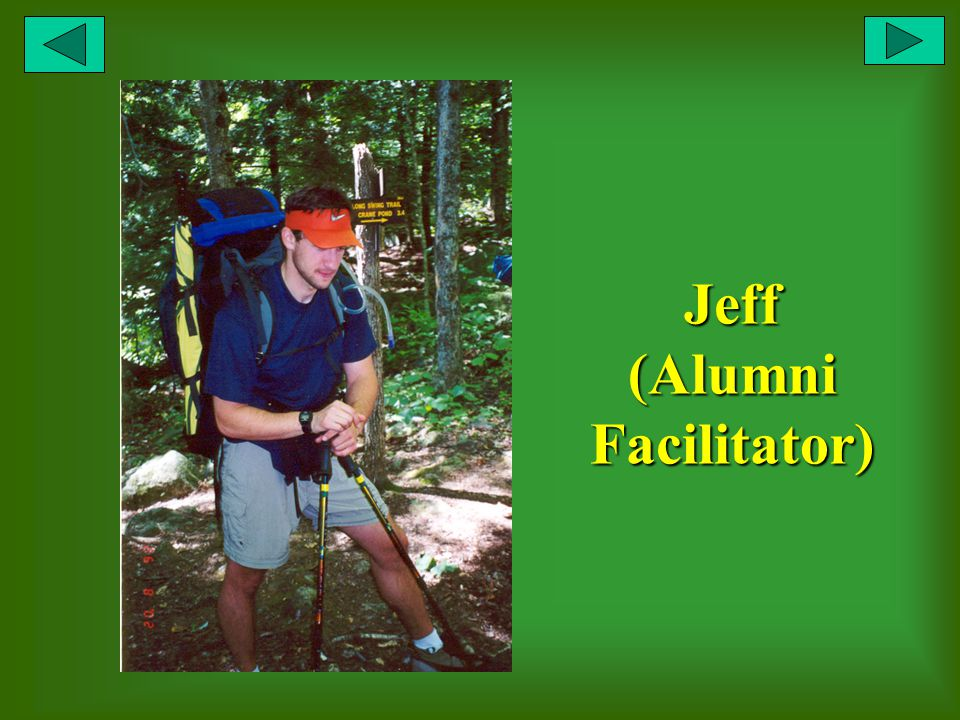 Jeff (Alumni Facilitator)