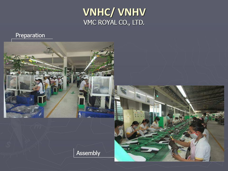VMC ROYAL CO., LTD. VNHC/ VNHV Preparation Assembly