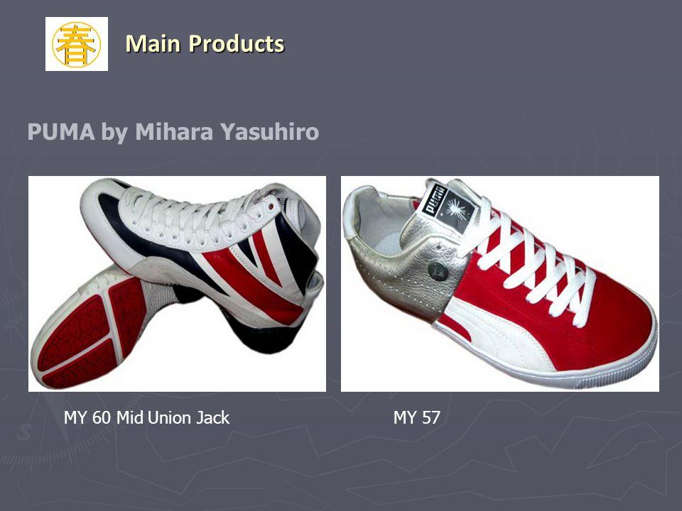 MY 60 Mid Union JackMY 57 Main Products PUMA by Mihara Yasuhiro