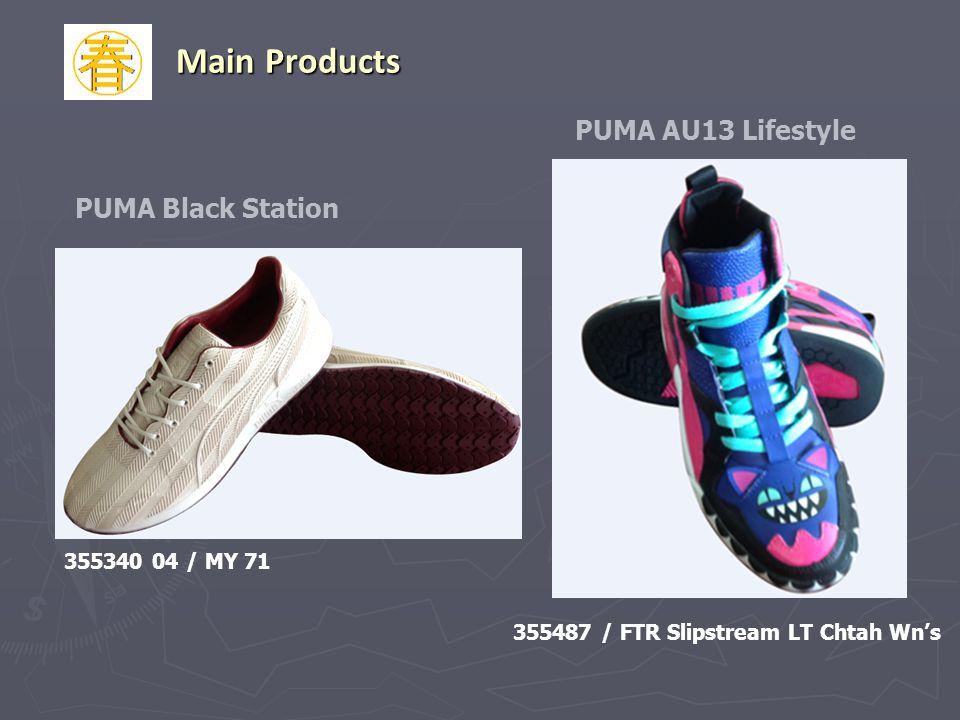 PUMA Black Station 355340 04 / MY 71 355487 / FTR Slipstream LT Chtah Wns PUMA AU13 Lifestyle