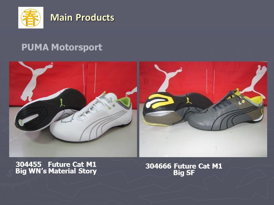 PUMA Motorsport 304666 Future Cat M1 Big SF 304455 Future Cat M1 Big WNs Material Story Main Products 304666 Future Cat M1 Big SF