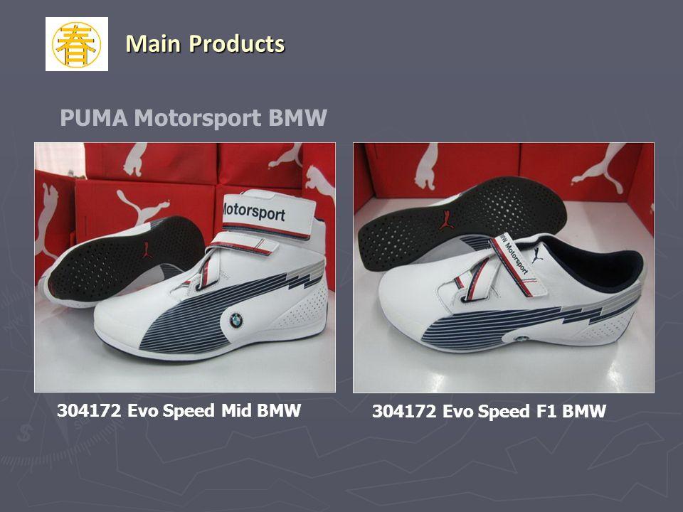 PUMA Motorsport BMW 304172 Evo Speed F1 BMW 304172 Evo Speed Mid BMW Main Products