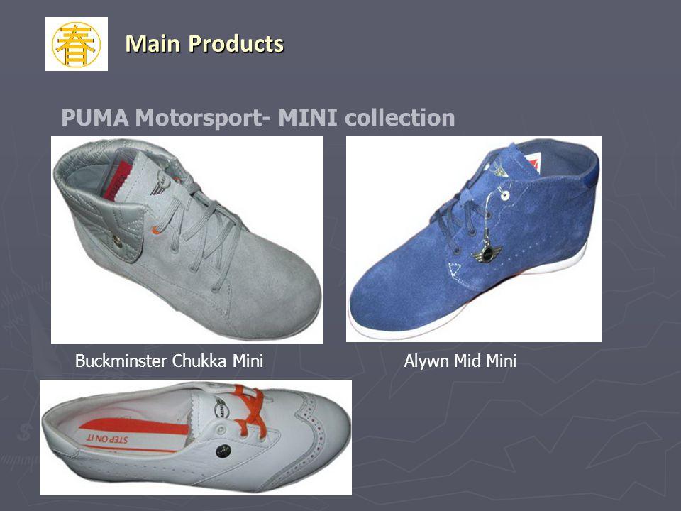 Buckminster Chukka MiniAlywn Mid Mini PUMA Motorsport- MINI collection Main Products