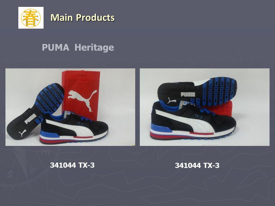 PUMA Heritage 341044 TX-3 Main Products