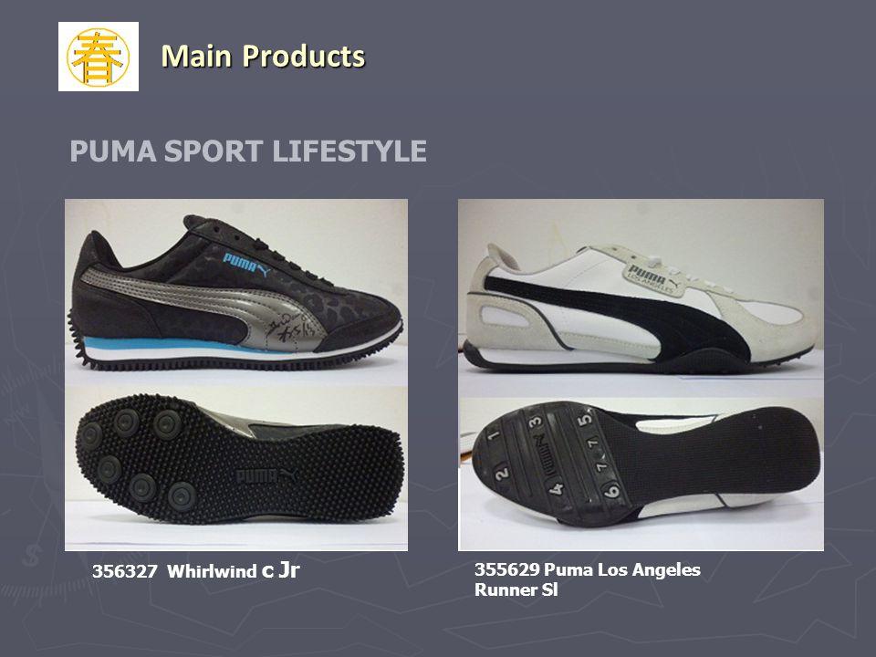 PUMA SPORT LIFESTYLE 356327 Whirlwind c Jr Main Products 355629 Puma Los Angeles Runner Sl
