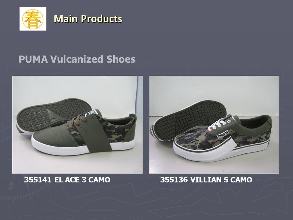 PUMA Vulcanized Shoes 355141 EL ACE 3 CAMO355136 VILLIAN S CAMO Main Products