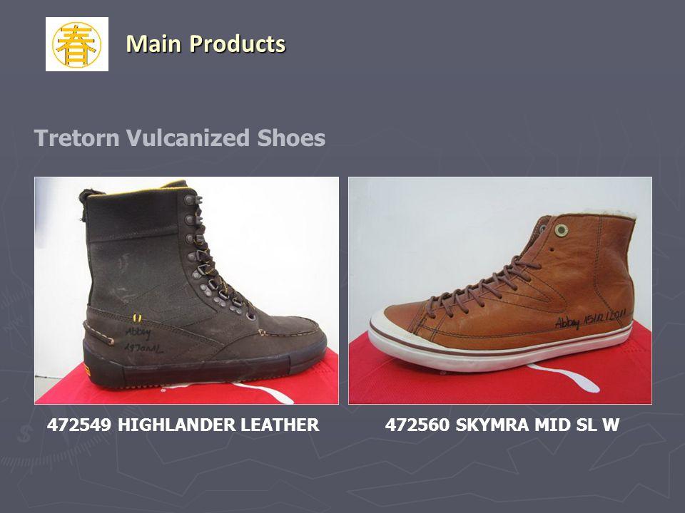 472549 HIGHLANDER LEATHER472560 SKYMRA MID SL W Tretorn Vulcanized Shoes Main Products