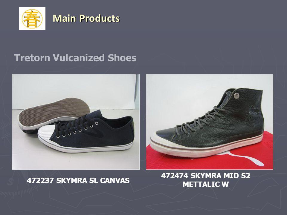 472237 SKYMRA SL CANVAS 472474 SKYMRA MID S2 METTALIC W Tretorn Vulcanized Shoes Main Products