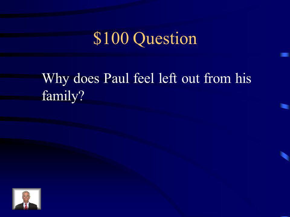 Jeopardy Characters Plot Potpourri Symbols Q $100 Q $200 Q $300 Q $400 Q $500 Q $100 Q $200 Q $300 Q $400 Q $500 Final Jeopardy
