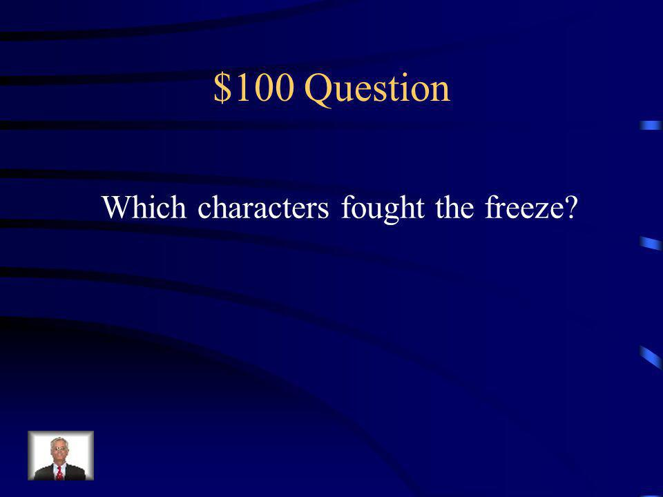 $500 Answer He realized theyre both handicapped goalies