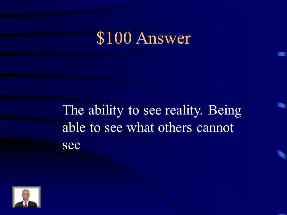 $100 Question Pauls glasses