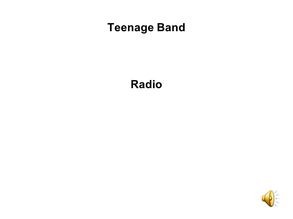 Radio Teenage Band