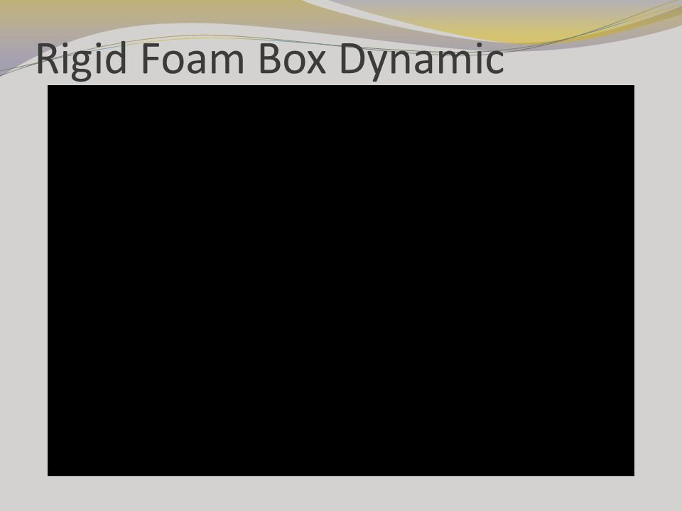 Rigid Foam Box Dynamic