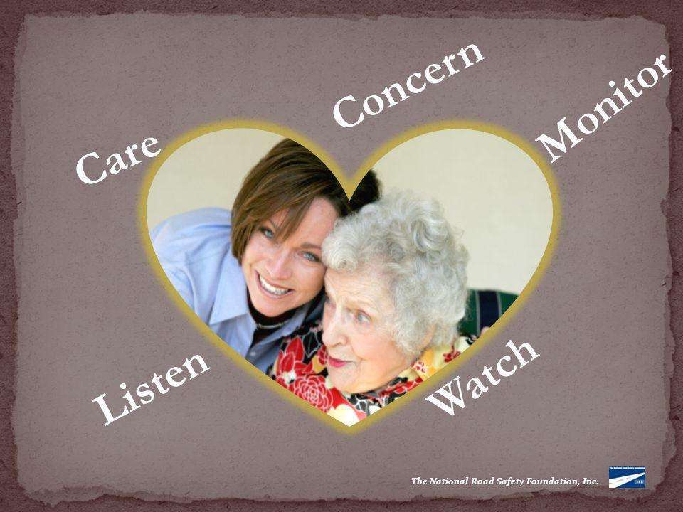 Care Monitor Concern Watch Listen