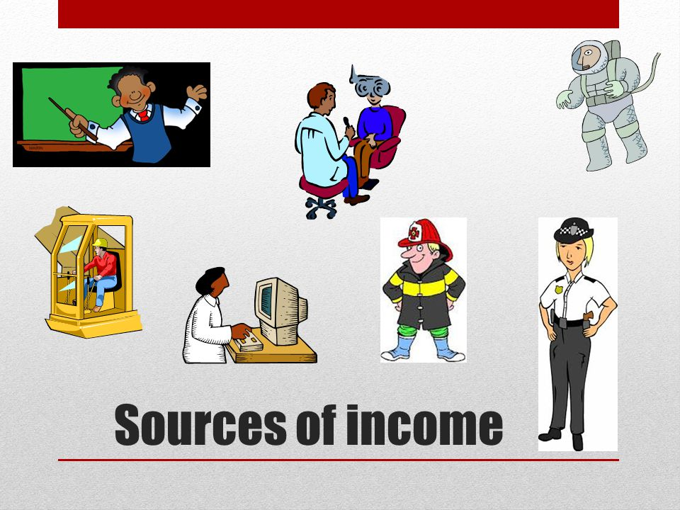 Sources of income 28