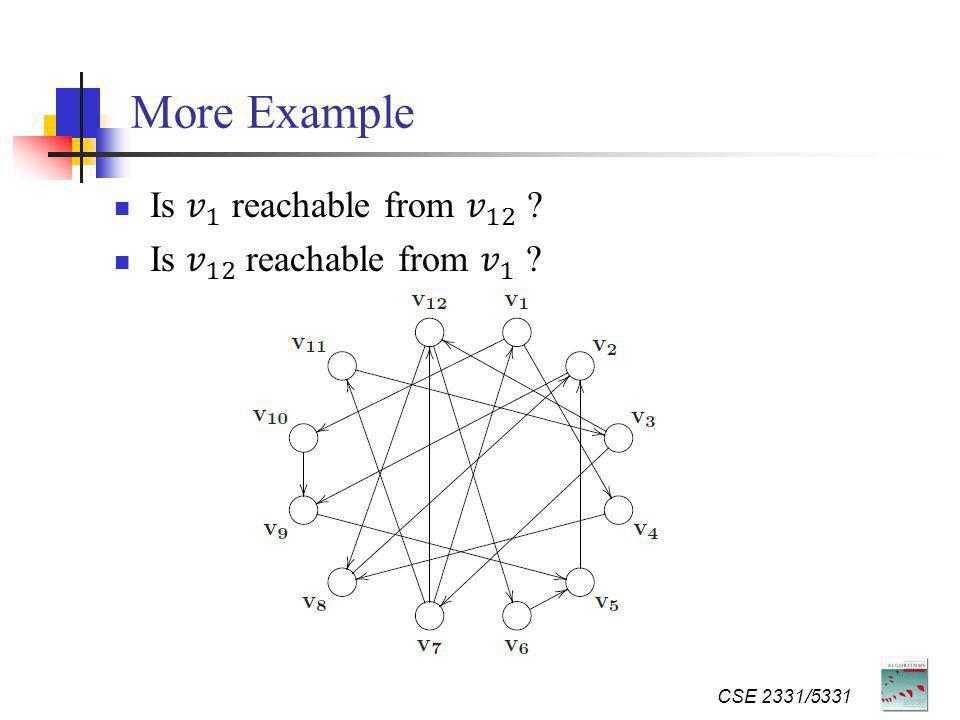 More Example CSE 2331/5331