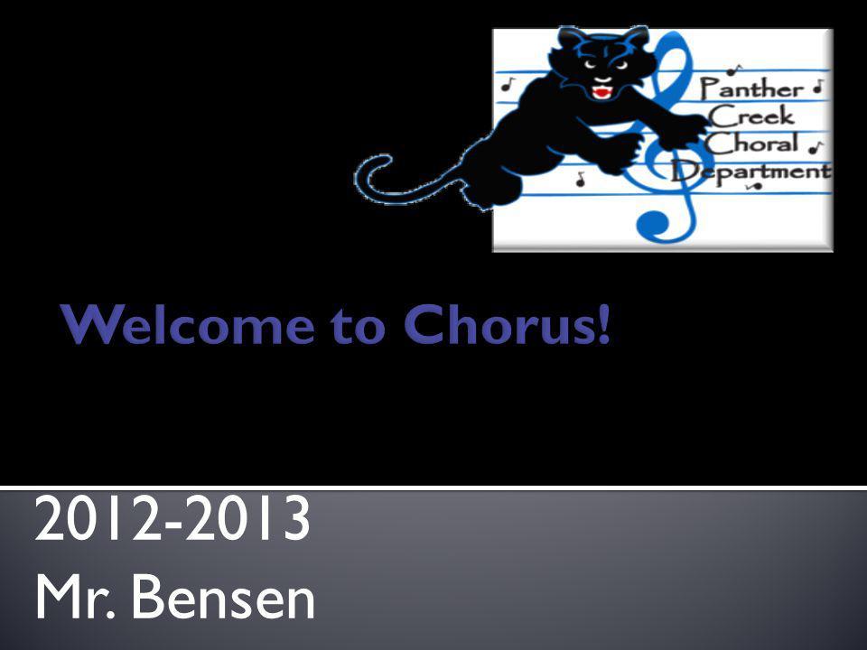 2012-2013 Mr. Bensen