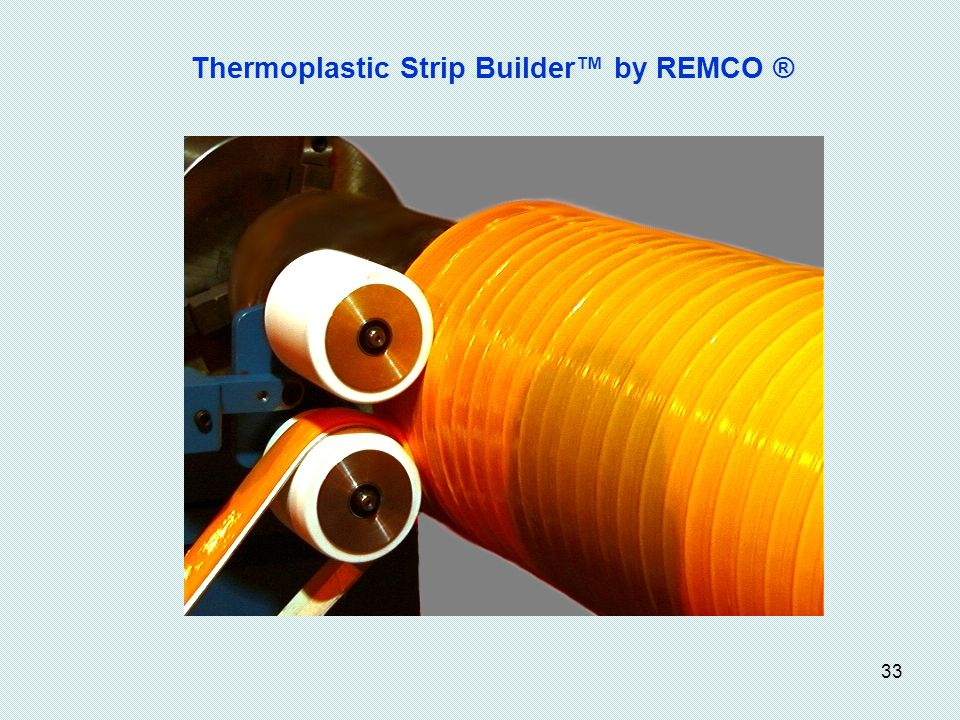 33 Thermoplastic Strip Builder by REMCO ®