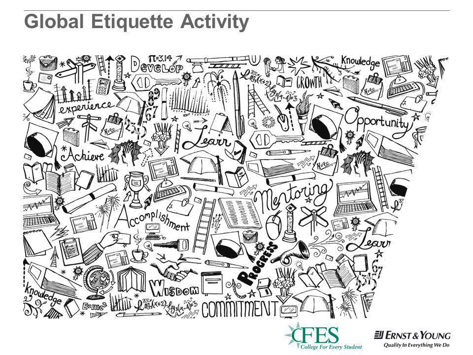 Global Etiquette Activity