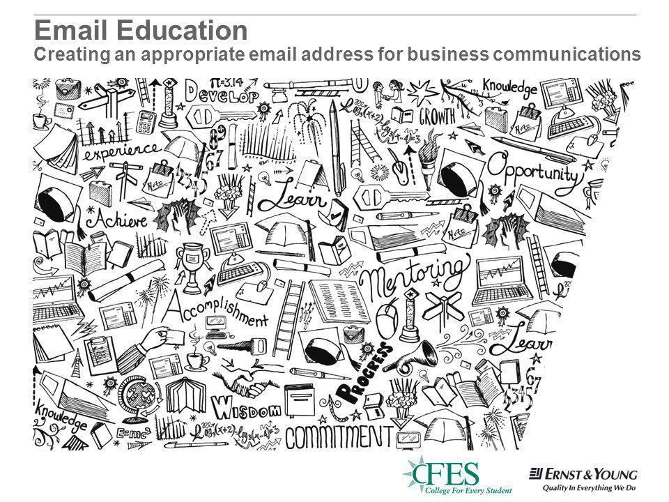 Education Creating an appropriate  address for business communications