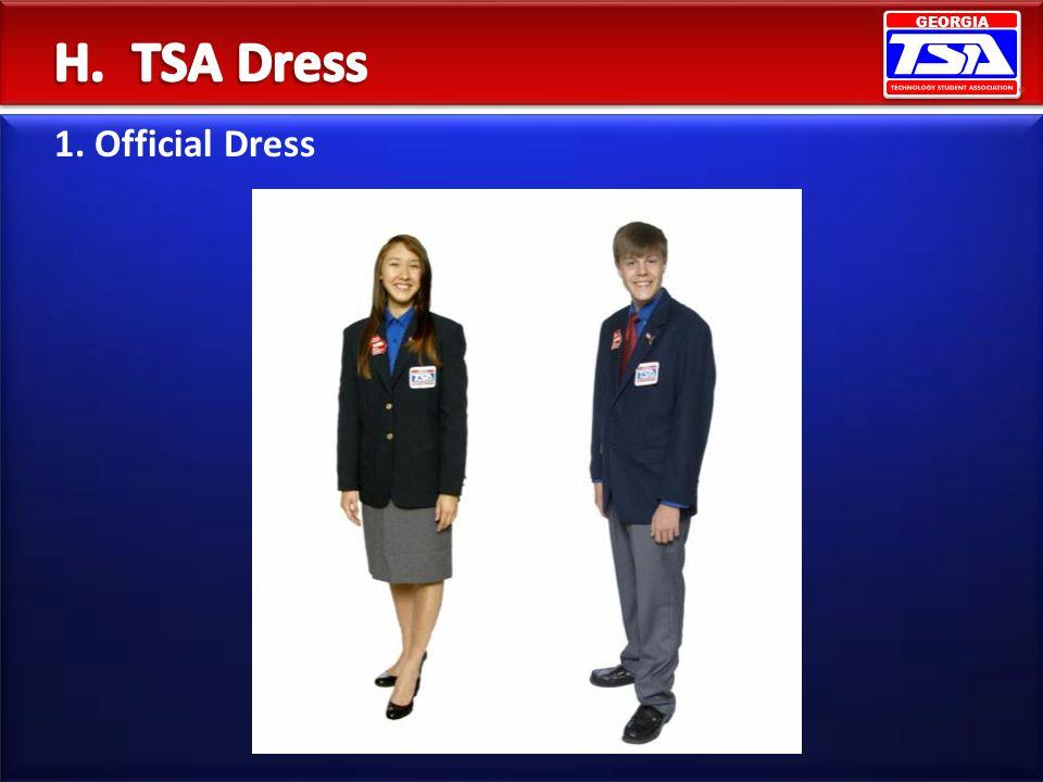 GEORGIA 1. Official Dress