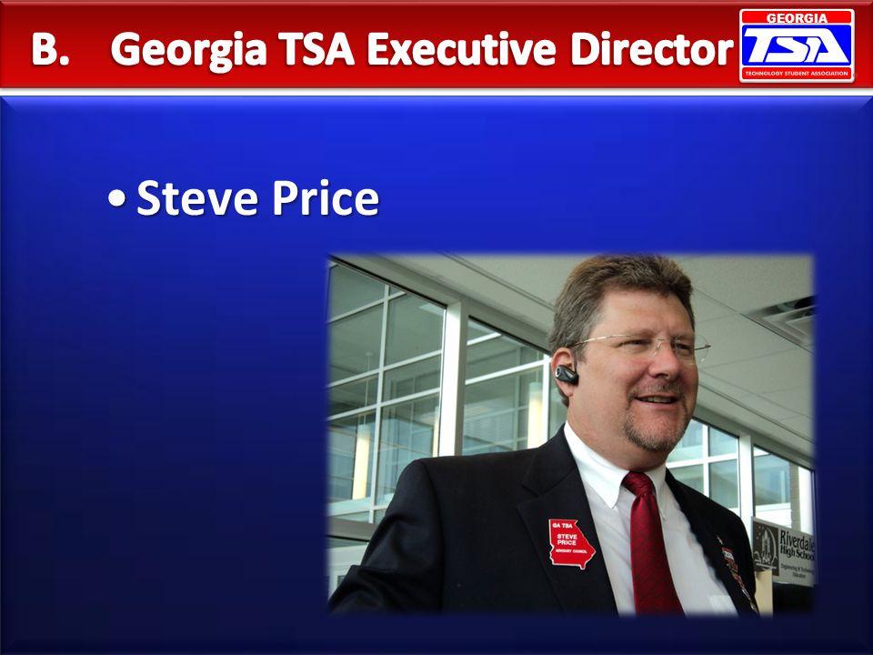GEORGIA Steve PriceSteve Price