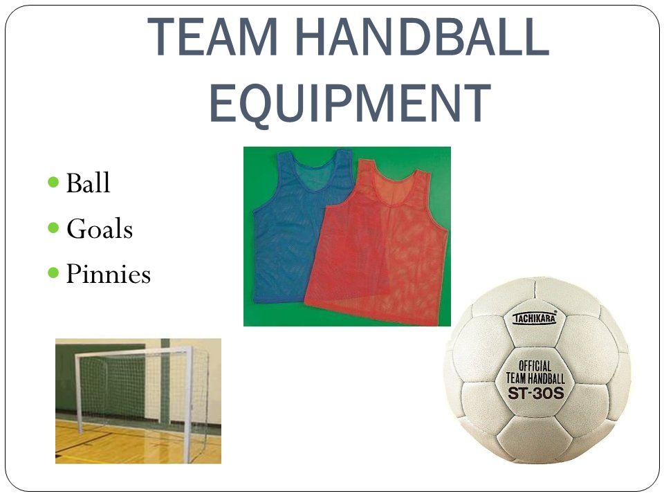 TEAM HANDBALL EQUIPMENT Ball Goals Pinnies