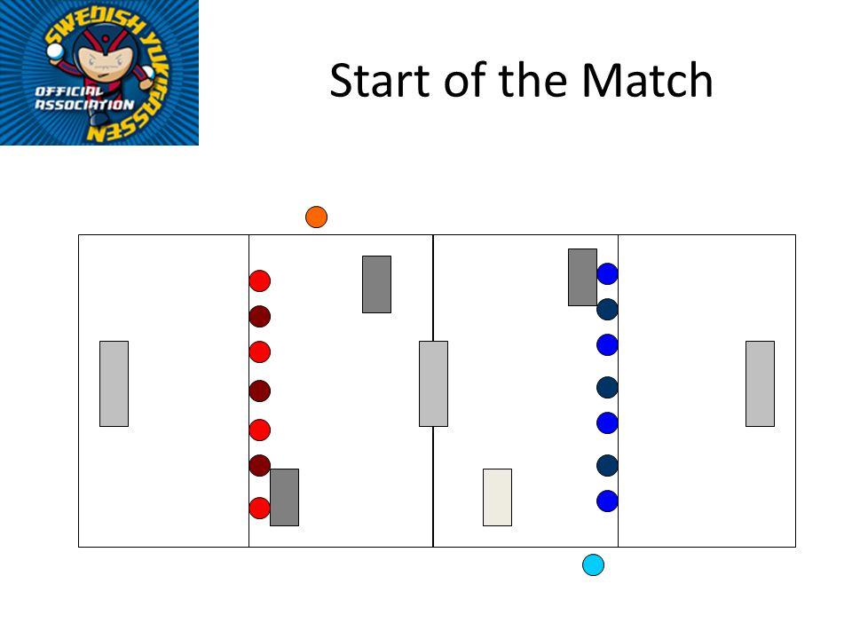 Start of the Match