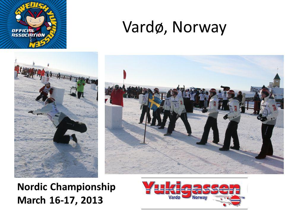 Vardø, Norway Nordic Championship March 16-17, 2013