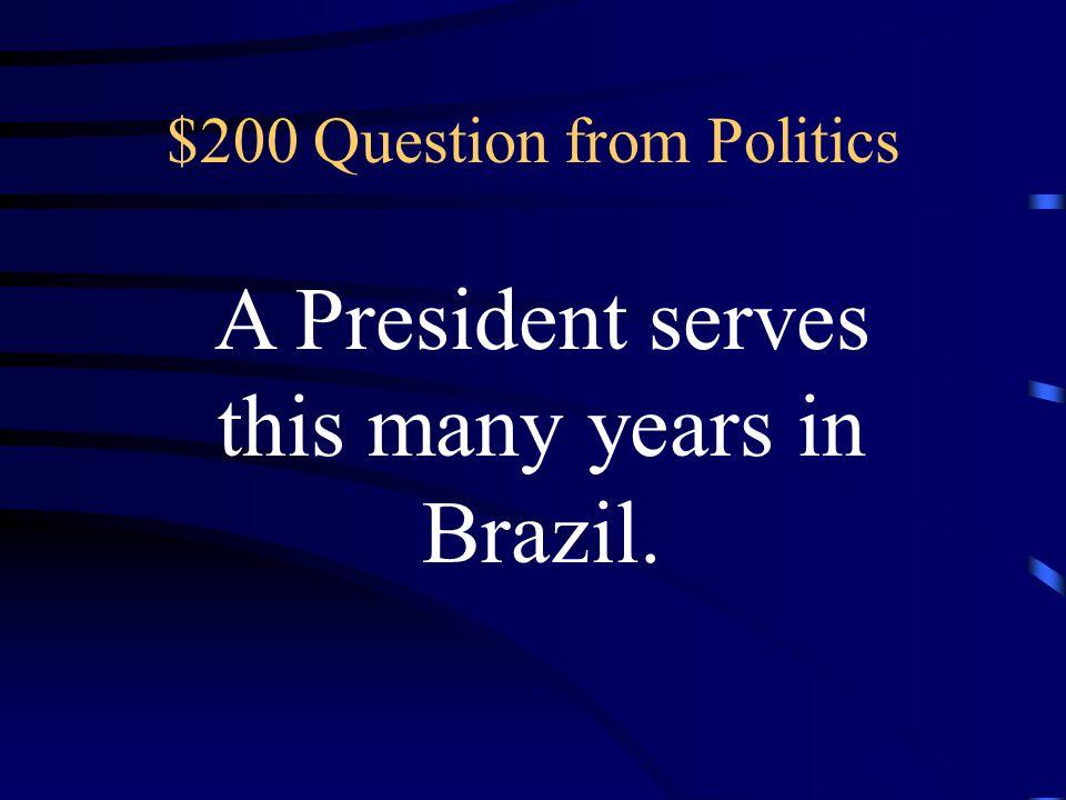 Double Jeopardy Politics Music Economics Natural Resources Culture Q $200 Q $400 Q $600 Q $800 Q $1000 Q $200 Q $400 Q $600 Q $800 Q $1000