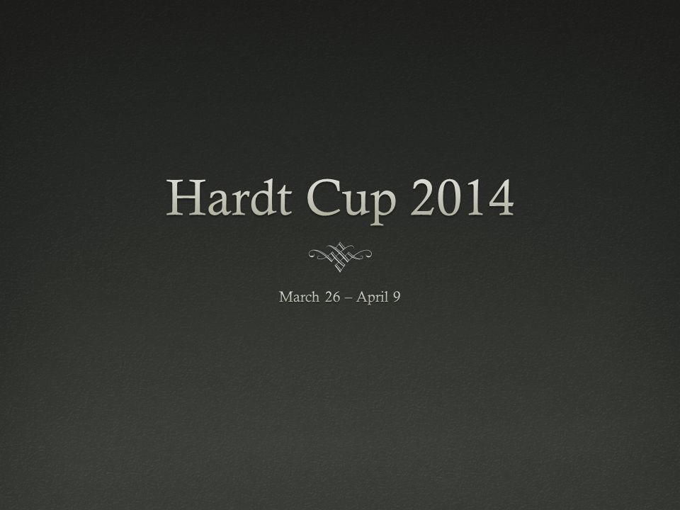 Hardt Cup Format: Round 3,Hardt Cup Format: Round 3, Round 3: Friday, April 4 If you move on to Round 3, you must compete Same case, different legal problem Following Round 3, the top 10% of the first-year class will be invited to join the Moot Court Board